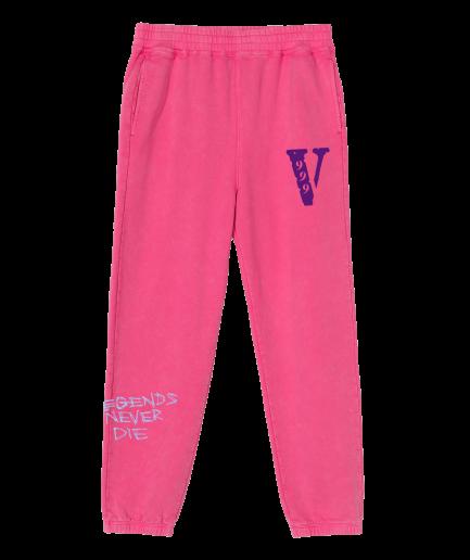 VLONE 999 Pink Sweat Pants