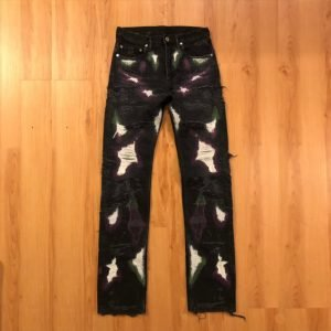 VLONE-Runway-Patchwork-Japanese-Denim-Jeans-pants