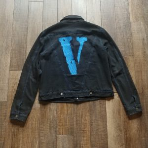 VLONE Black Jean Jacket