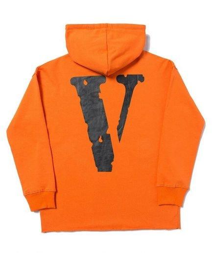 Vlone Cotton Clothing Friends Streetwear Classic Hoodie