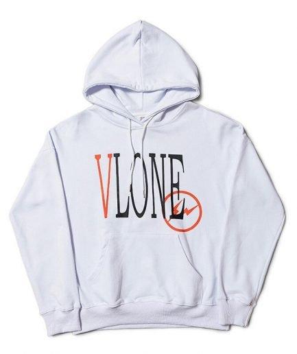 Vlone Designer Hip Hop Sweatshirt Designer Letter Print Hoodies