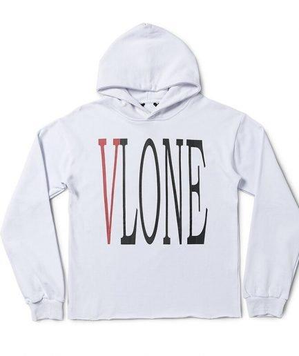 VLONE VL Sweatshirts Printed Cotton Hoodie