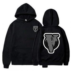 New Authentic Wrld X Vlone Black Hoodie