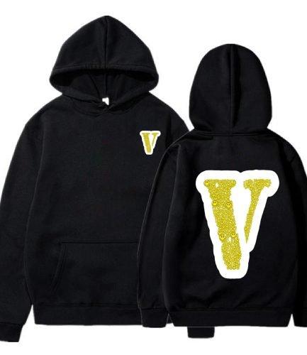 Vlone City Morgue Black Hoodie