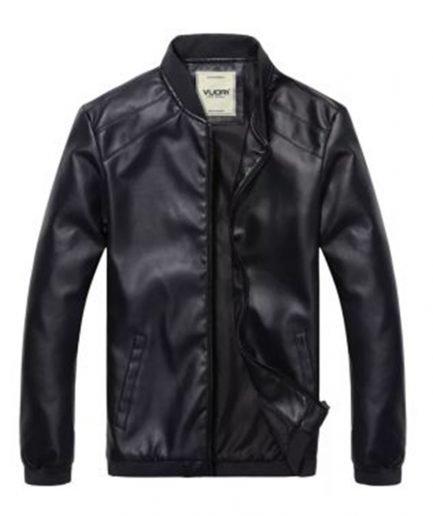 VLONE-Logo-Black-Leather-Jackets
