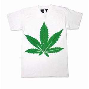 Green Leafe Dr-Dre Vlone Shirt White