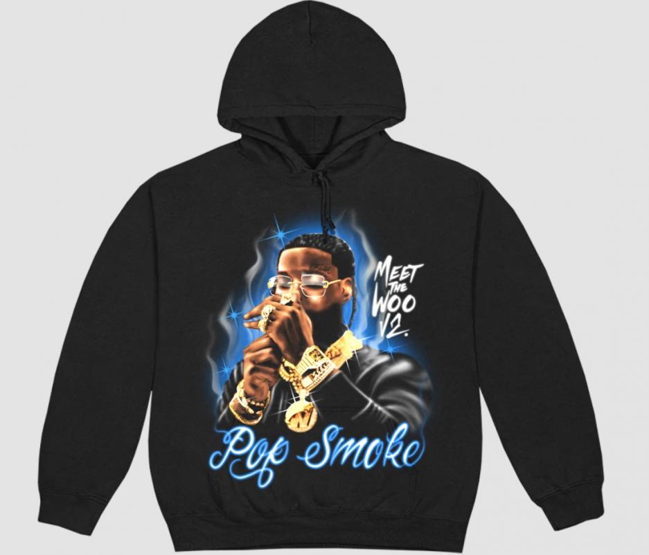 Pop Smoke Meet The Woo 2 Hoodie in Black