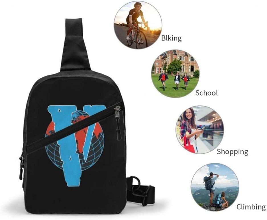 V-Lone Red World Designed Sports Fitness Backpack 4