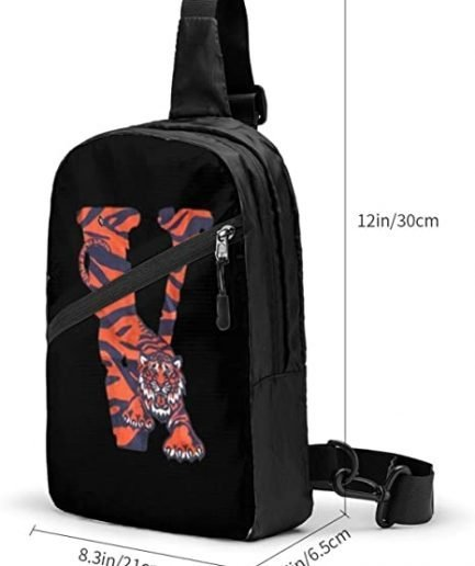 V-Lone Tiger Shape Sports Fitness Backpack 2