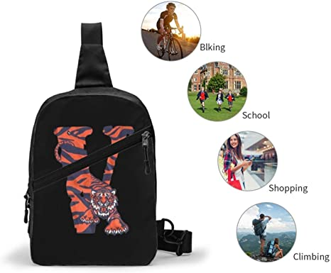 V-Lone Tiger Shape Sports Fitness Backpack 5