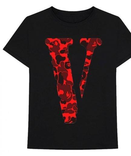 VLONE Camo Friend Shirt Black