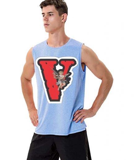Vlone Angel Friends Sleeveless Shirt