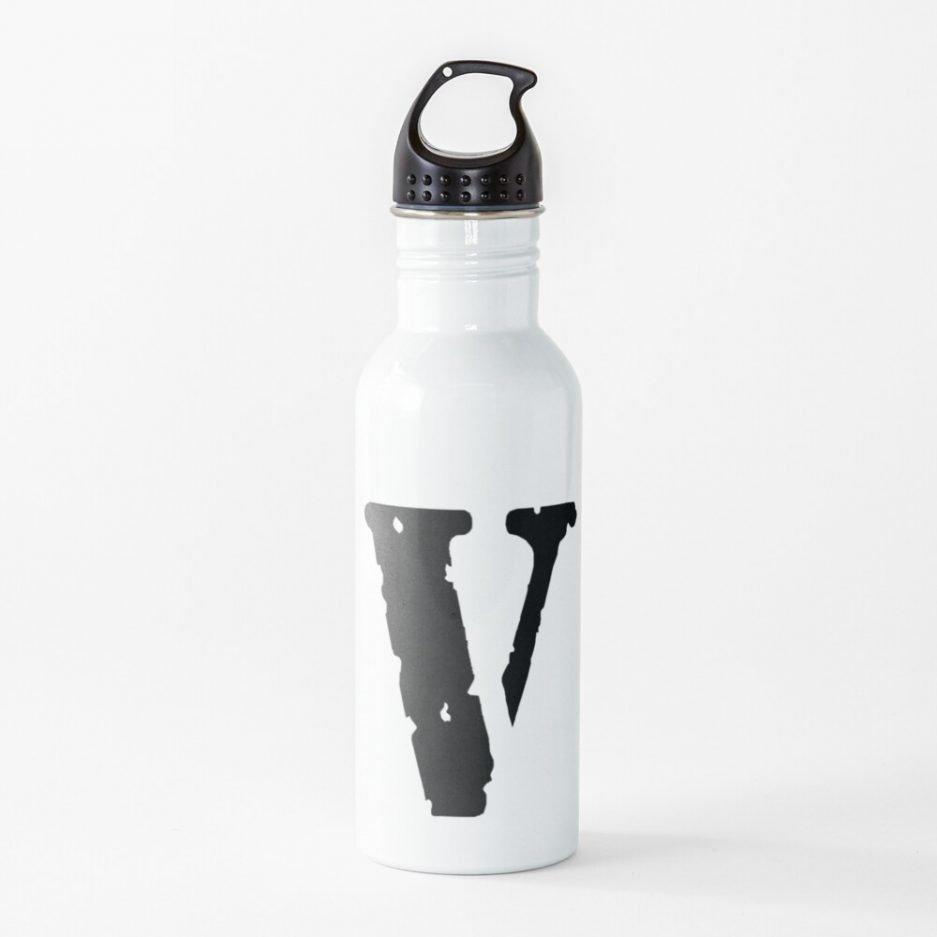 Vlone Logo Black Water Bottel