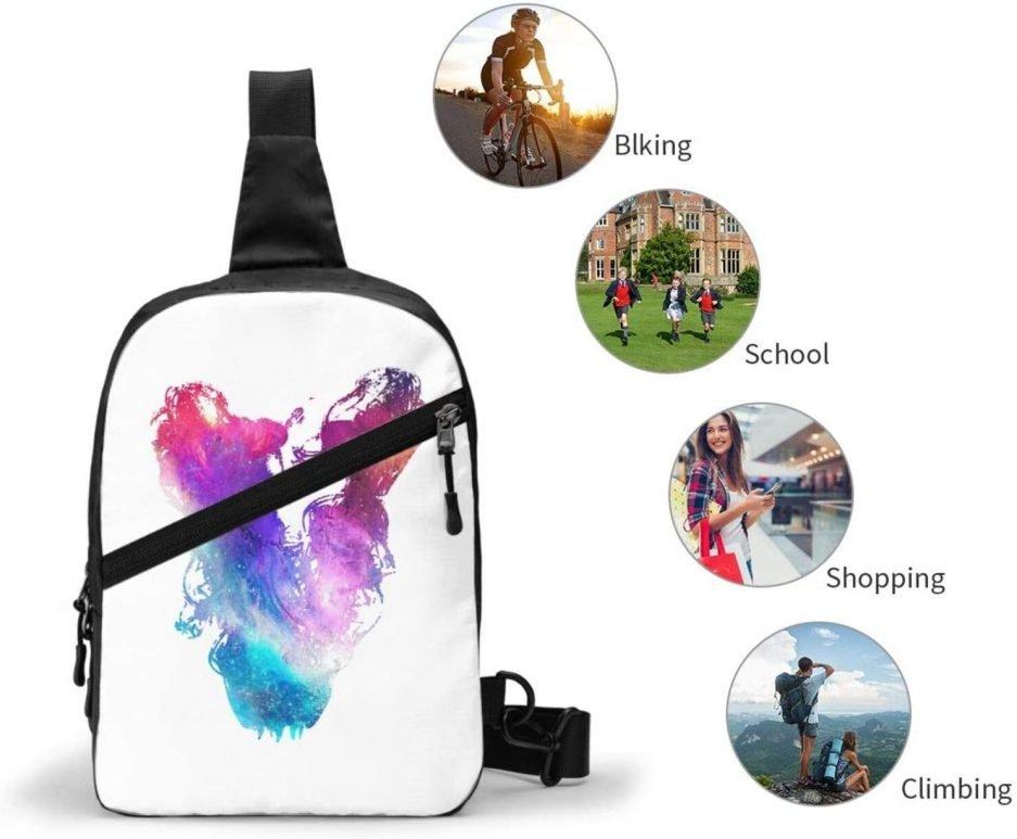 Vlone Printing V Sports Fitness Back Pack 4