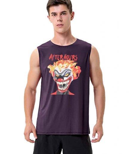 Vlone x The Weeknd After Hours Clown Sleeveless Shirt