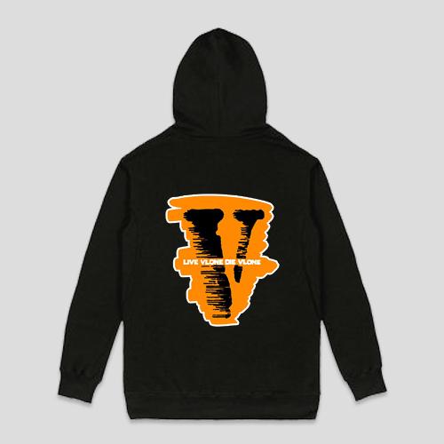 Live Vlone Die Vlone Hoodie