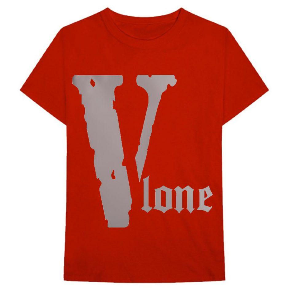 Vlone Best Selling Logo T-Shirt Red