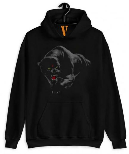 Vlone Black Panther Hoodie