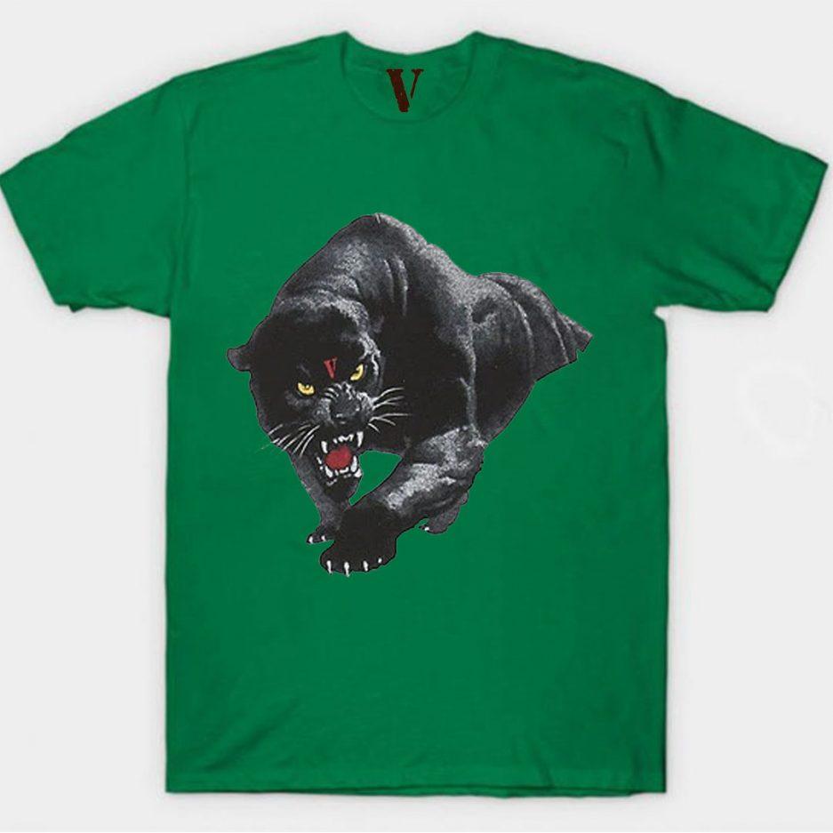 Vlone Black Panther Tee Green
