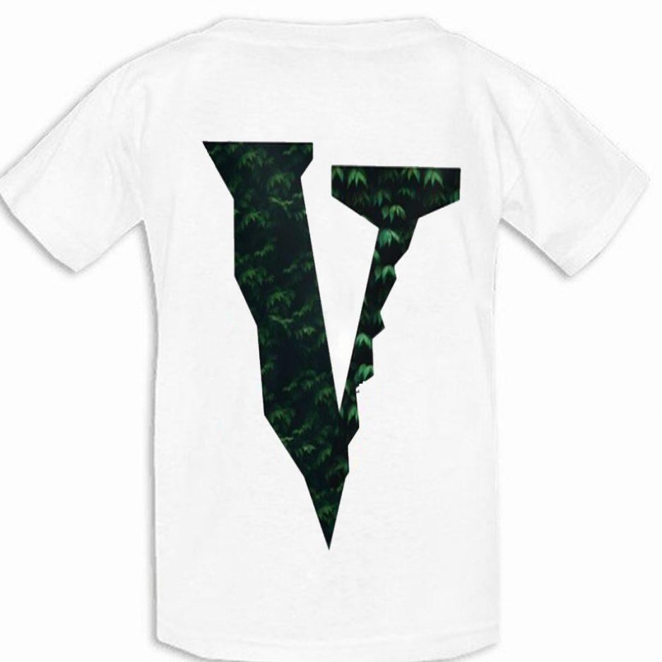 Vlone Plants Tree Logo T-Shirt Back