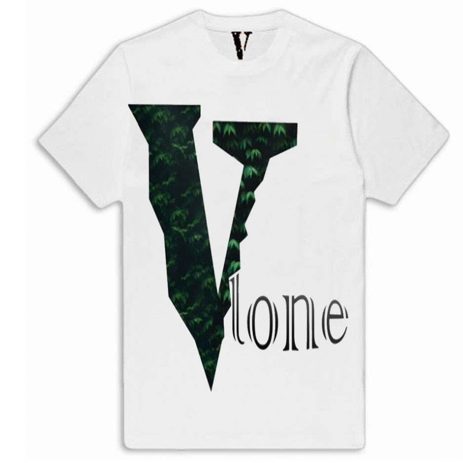 Vlone Plants Tree Logo T-Shirt White
